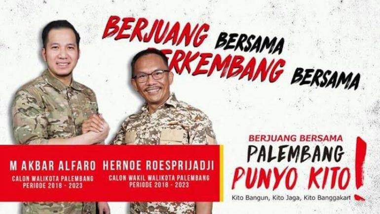 AKHORsiap berkompetisi di Pilkada Palembang 2018